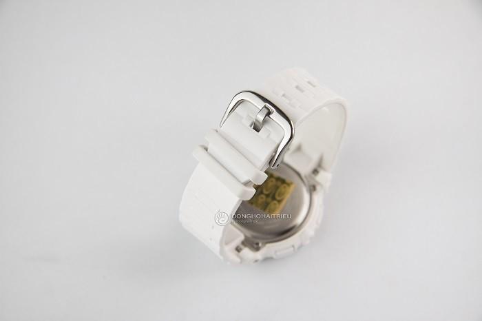 Baby-G BGA-150F-7ADR Độc đáo với mặt đồng hồ phụ điện tử-ảnh 3