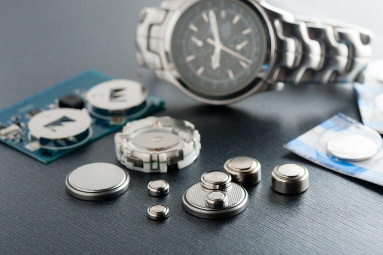 Các loại pin đồng hồ đeo tay phổ biến nhất hiện nay
