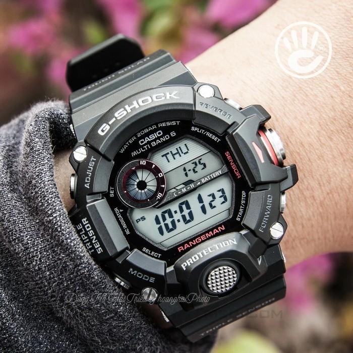 Cách sử dụng đồng hồ G Shock để bấm giờ thể thao
