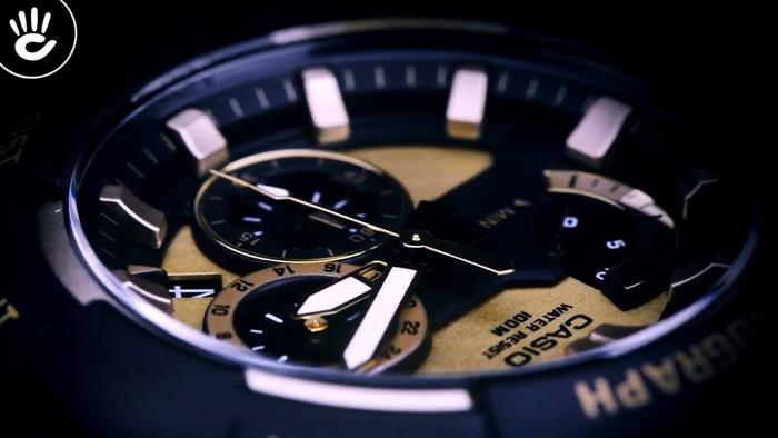 Casio MCW-200H-9AVDF Ấn tượng với mặt số caro vàng độc đáo - Ảnh 3