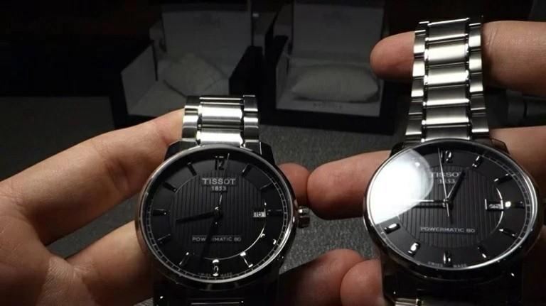Chiếc đồng hồ Fake loại 1 thương hiệu Tissot rất giống với hàng thật