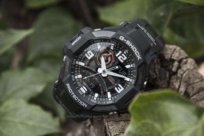 Đồng hồ G-Shock GA-1000-1ADR giá rẻ, thay pin miễn phí - Ảnh 2