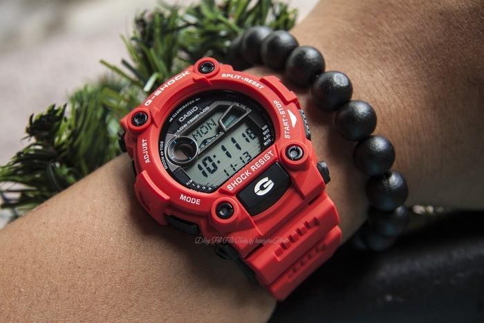 Đồng hồ Casio G-Shock G-7900A-4DR Khi sắc đỏ là nên sự khác biệt - Ảnh 2