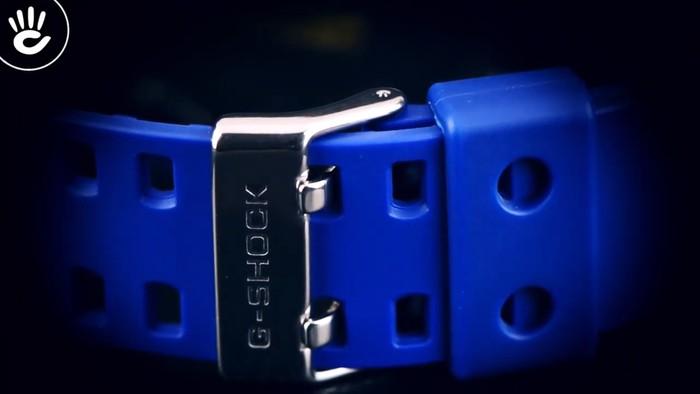Casio G-Shock GD-120TS-2DR Hồng nổi bật trên mặt xanh hy vọng - Ảnh 3