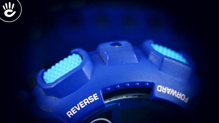 Casio G-Shock GD-120TS-2DR Hồng nổi bật trên mặt xanh hy vọng - Ảnh 4