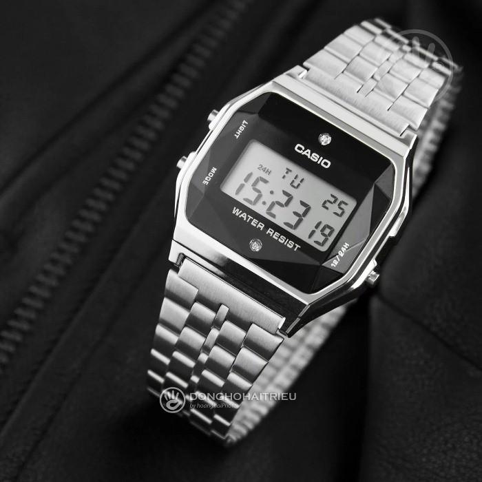 Hướng dẫn cách chỉnh chức năng bấm giờ đồng hồ Casio Vintage Kim cương