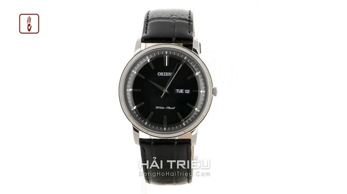 Orient FSZ40003W0 Đậm nét truyền thống với mặt số, dây đen thanh lịch-ảnh 1