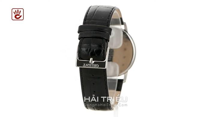 Orient FSZ40003W0 Đậm nét truyền thống với mặt số, dây đen thanh lịch-ảnh 3