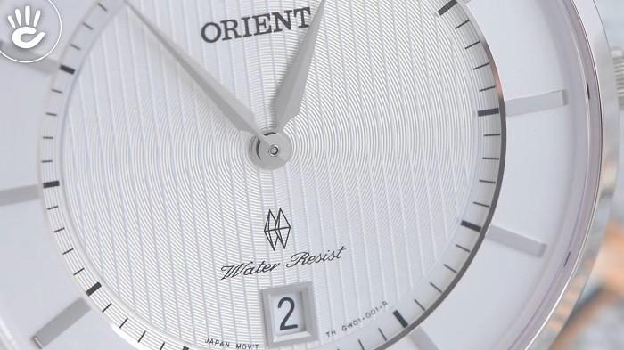 Tone bạc và nâu tạo nên nét cổ điển và thanh lịch từ Orient FGW01007W0-ảnh 2
