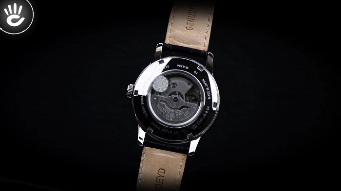 Vẻ đẹp cổ điển của các cọc số La mã đền từ đồng hồ Orient SET0T002S0-ảnh4