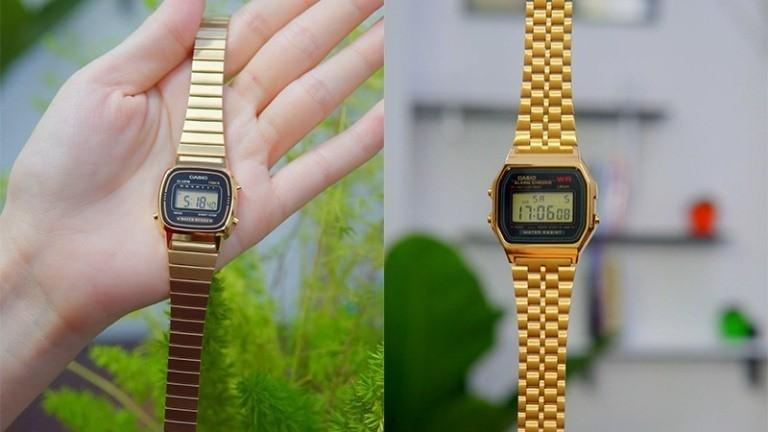 Phiên bản gốc của chiếc đồng hồ casio Vintage Kim Cương