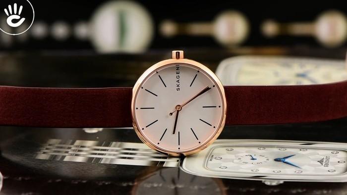 Review đồng hồ Skagen SKW2679 thiết kế mỏng trẻ trung - Ảnh 1