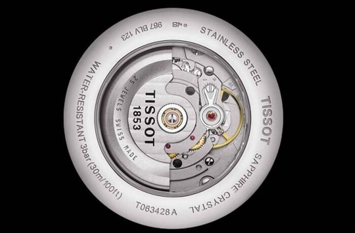 Tissot T063.428.16.038.00 Chinh phục từ bộ máy cơ Thụy Sỹ mạnh mẽ - Ảnh 4