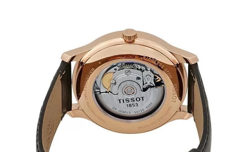 Tissot T063.428.36.038.00 Đẳng cấp từ Sapphire đến mặt số dát vàng - Ảnh 4