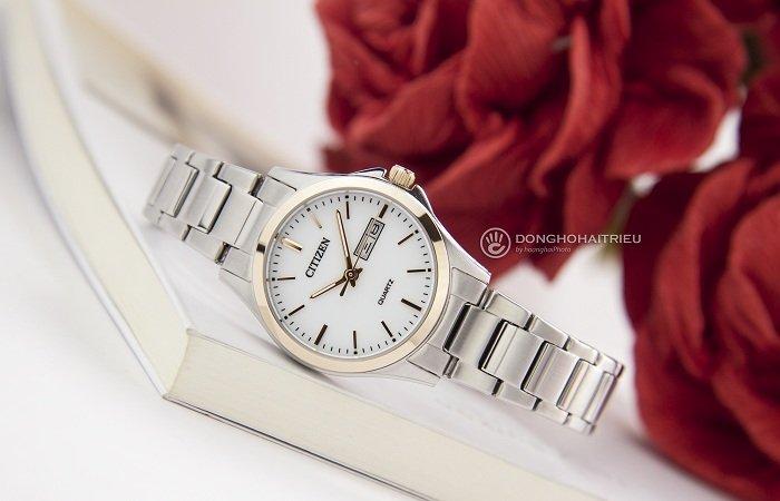 Thiết kế nhỏ gọn thanh mảnh và tinh tế từ đồng hồ Citizen EQ0596-87A - ảnh 2