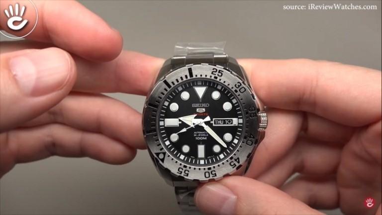 Đồng hồ seiko cổ, sekio 5 Sport được cải tạo nhiều tiêu chuẩn