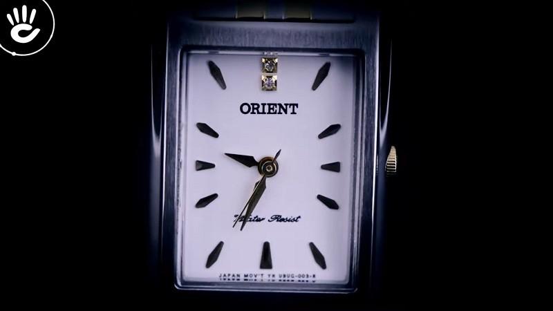 Review đồng hồ Orient FUBUG002W0: Đính đá pha lê nổi bật-2