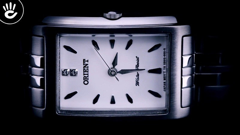 Review đồng hồ Orient FUBUG003W0: Trắng bạc cho nàng công sở-4
