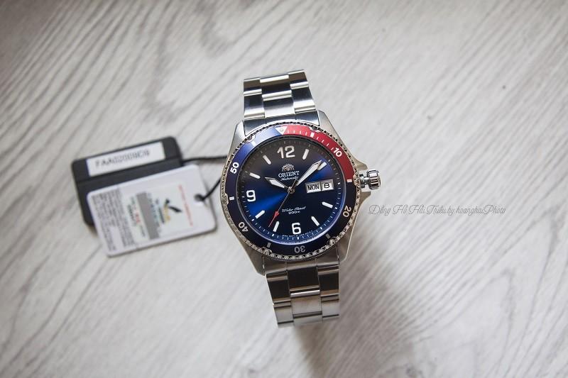 Review đồng hồ Orient FAA02009D9: Kháng nước 20ATM ấn tượng-1