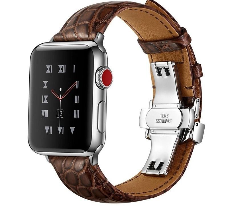 Tại sao nên chọn dây da đồng hồ khóa bướm phù hợp