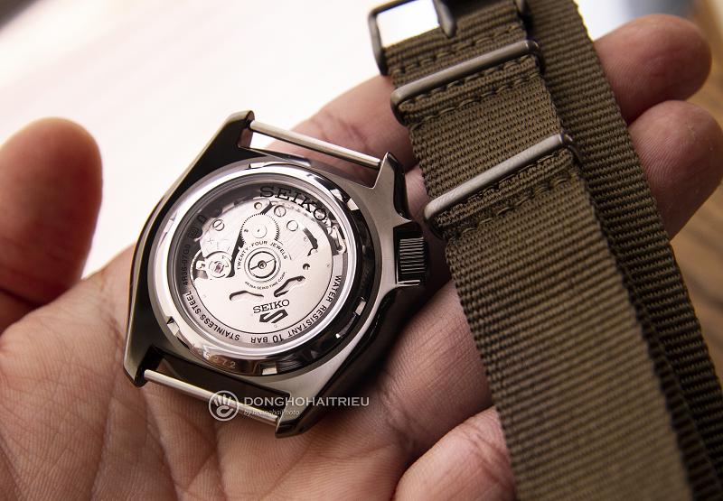 Dây đồng hồ seiko 5 quân đội được làm bằng vải