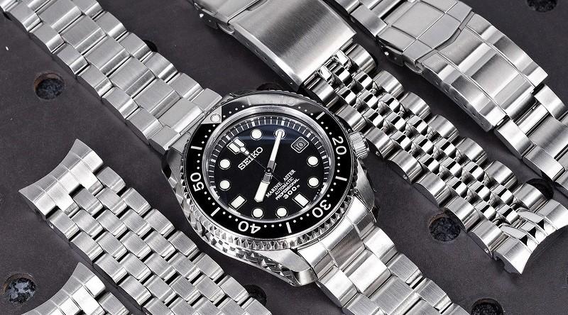 Dây đồng hồ seiko 5 kim loại thích hợp cho đàn ông trưởng thành