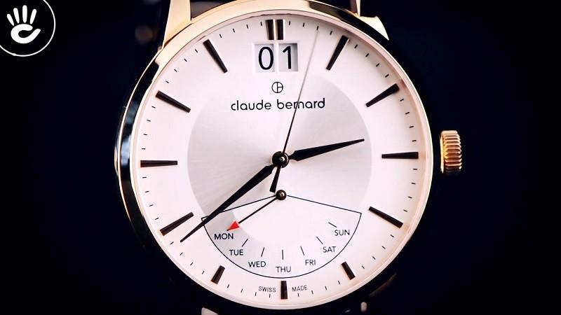 Đồng hồ Claude Bernard 41001.37R.AIR nam, thay pin miễn phí-ảnh 2