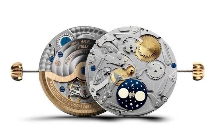 Độc đáo kim xanh trên nền mặt số màu trắng của Orient FEV0V004SH - Ảnh 4