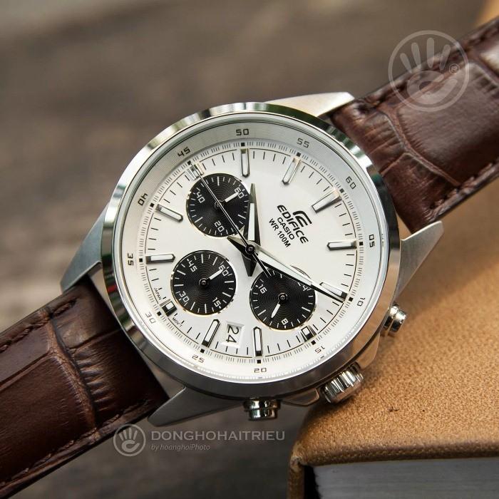 Đồng hồ casio edifice dây da EFR-527L-7AVUDF có thể phối với nhiều loại trang phục