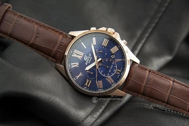 Đồng hồ casio edifice dây da EFV-500GL-2AVUDF được thiết kế với nhiều tính năng tiện ích