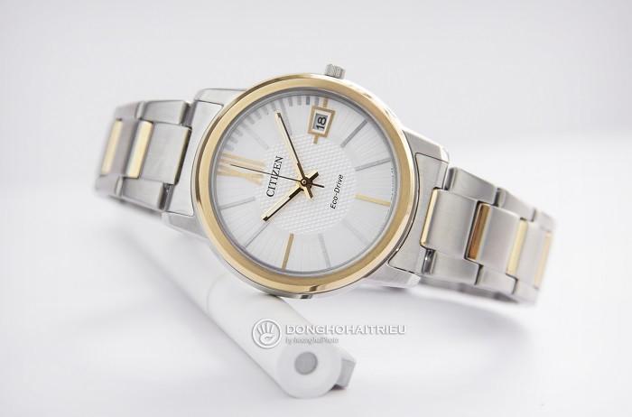 Đồng hồ Citizen FE6014-59A sắc vàng phối sắc bạc tinh tế - Ảnh 3