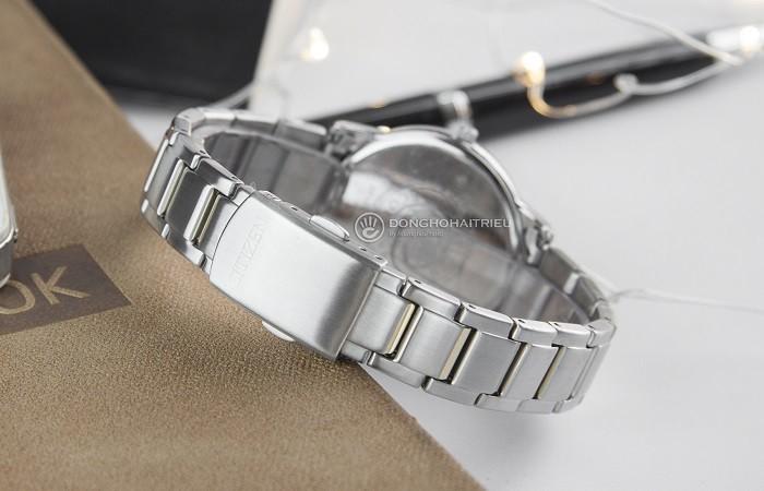 Đồng hồ Citizen FE6014-59A sắc vàng phối sắc bạc tinh tế - Ảnh 5
