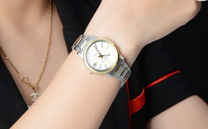 Đồng hồ Citizen FE6014-59A sắc vàng phối sắc bạc tinh tế - Ảnh 7