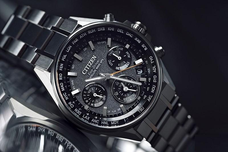 Mẫu đồng hồ đồng hồ eco drive Attesa Chronograph