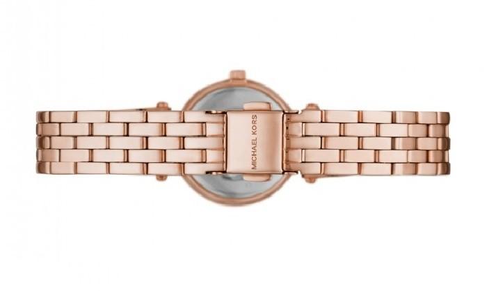 Đồng hồ Michael Kors MK3832 Viền kim cương đầy tinh xảo - Ảnh 3
