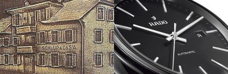 Nhà máy nơi sản xuất ra chiếc đồng hồ Rado