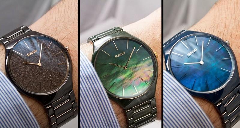 Đồng hồ Rado chính hãng giá bao nhiêu khi được ứng dụng Ultra-Light High-Tech Ceramic