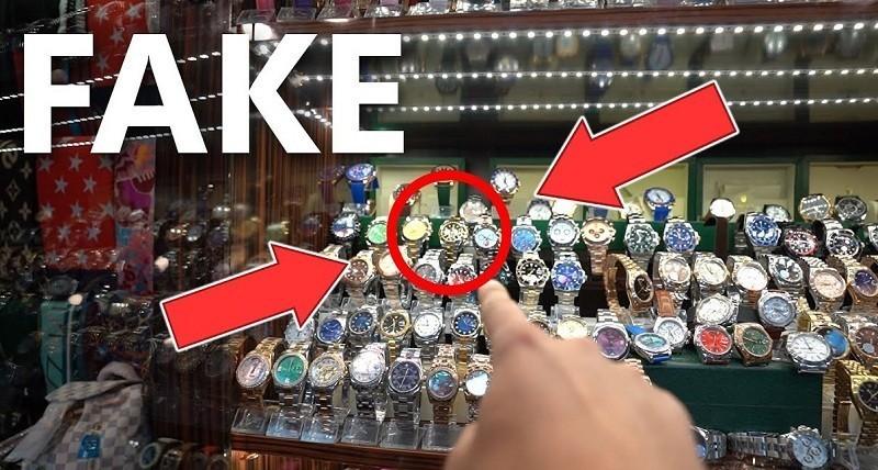 Có rất nhiều chiếc đồng hồ Rado Fake trên thị trường Việt Nam