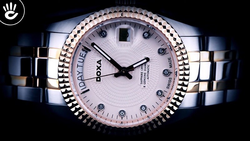 Đồng hồ Doxa D131RRO Automatic, trữ cót lên đến hơn 40 giờ- ảnh 1