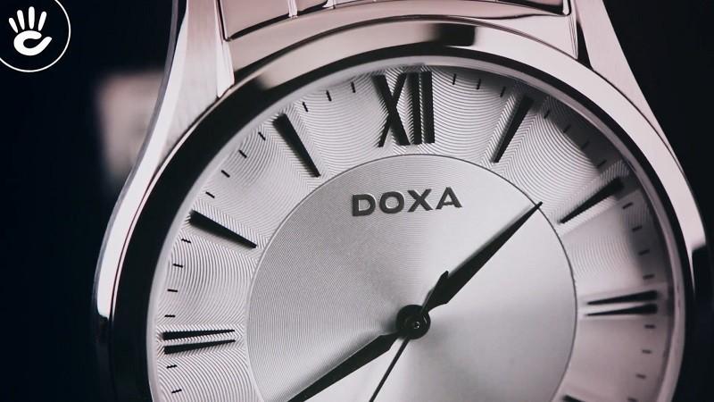 Đồng hồ Doxa D201SSV giá rẻ, thay pin miễn phí trọn đời-ảnh 2