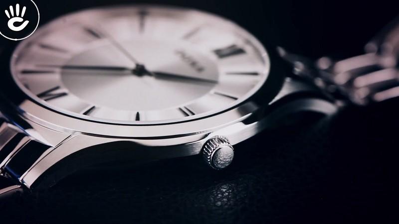 Đồng hồ Doxa D201SSV giá rẻ, thay pin miễn phí trọn đời-ảnh 4