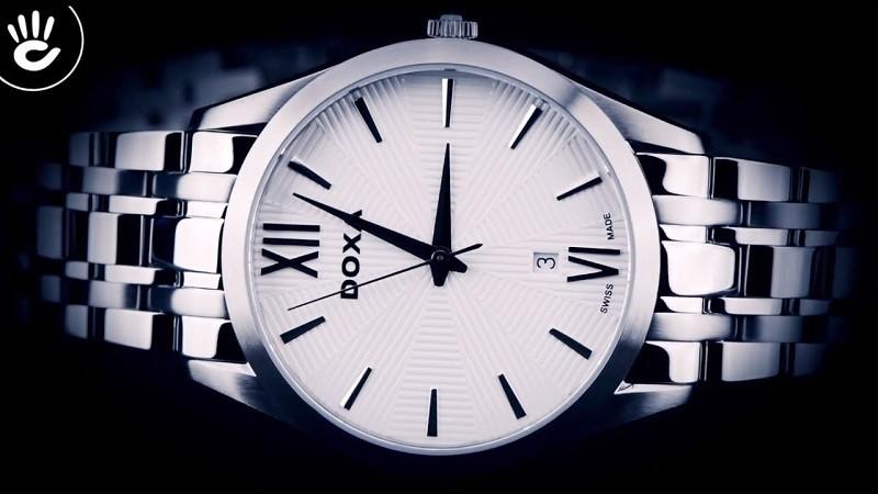 Đồng hồ Doxa D203SWH Automatic nam, trữ cót lên đến 40 giờ-ảnh 1