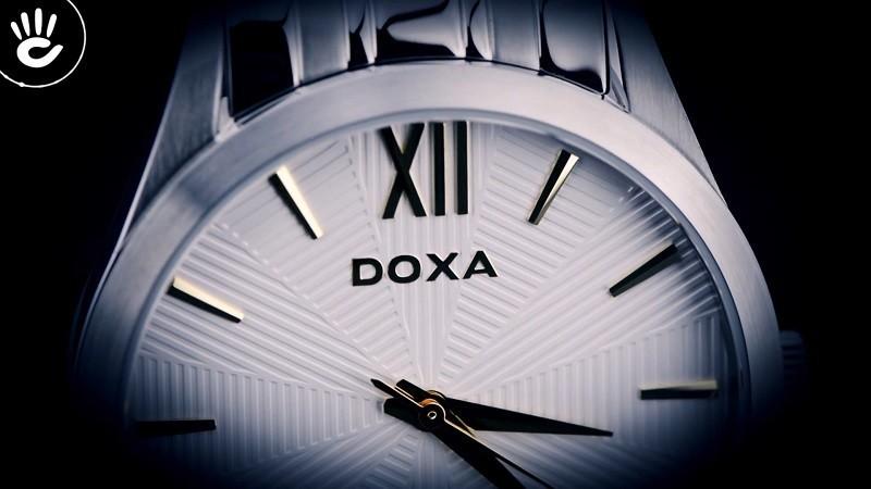 Đồng hồ Doxa D203SWY giá rẻ, thay pin miễn phí trọn đời -ảnh 2