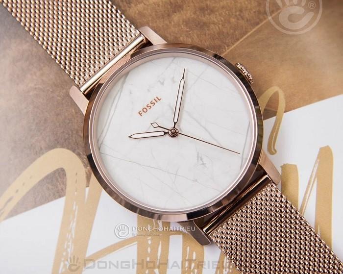 Thiết kế Marble đầy hiện đại với đồng hồ Fossil ES4404 - Ảnh 2