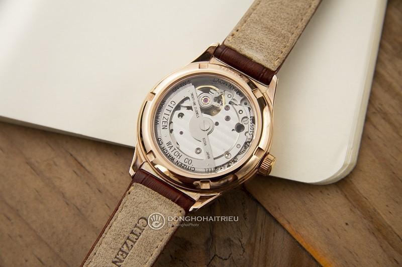Đồng hồ Citizen PC1003-07A: Thiết kế Open Heart, đính đá-4