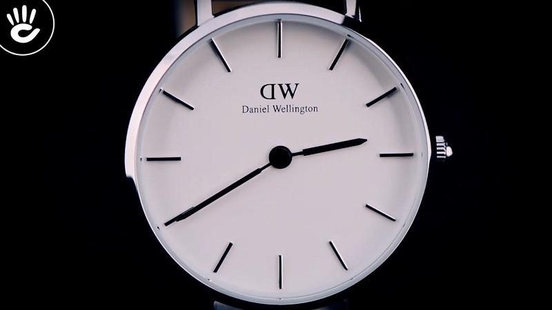 Đồng hồ Daniel Wellington DW00100250: Thiết kế siêu mỏng 6mm-2