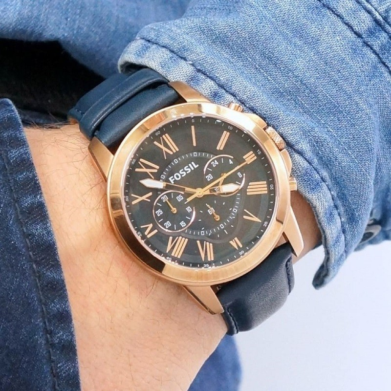 Review đồng hồ Fossil FS4835: Chronograph thể thao tiện dụng-1