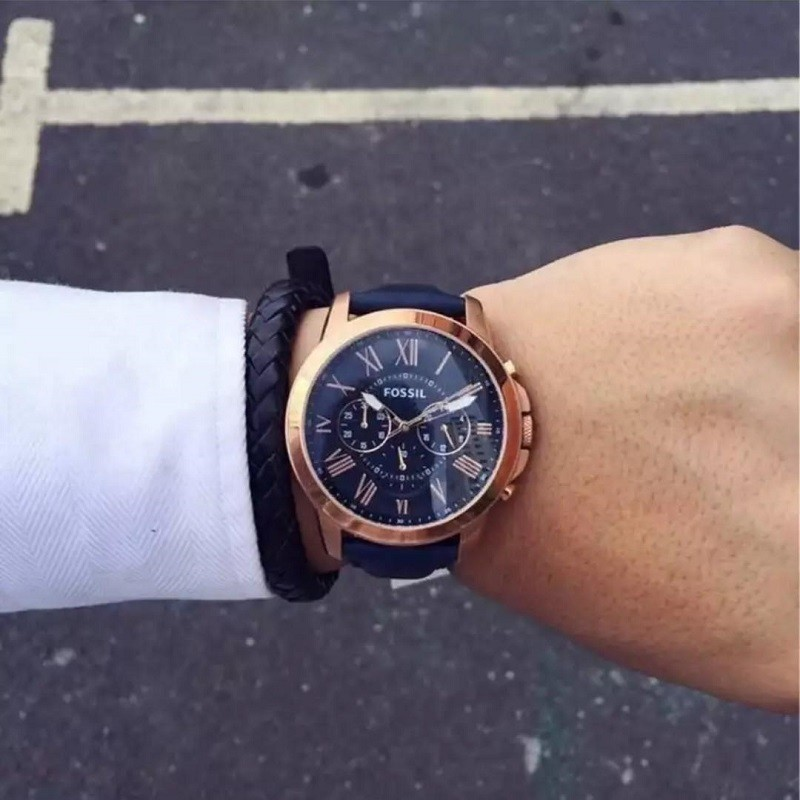 Review đồng hồ Fossil FS4835: Chronograph thể thao tiện dụng-5