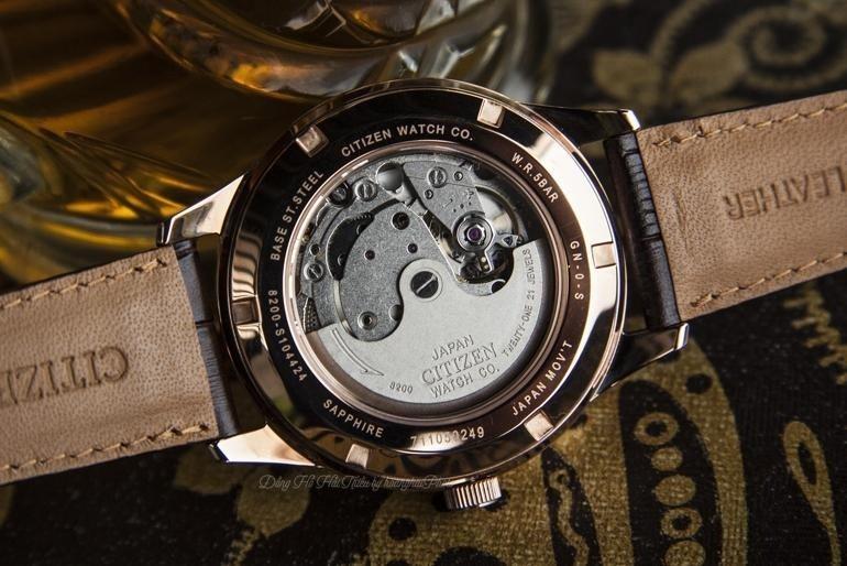 Dòng chữ Japan Movt thể hiện chất lượng bộ máy đồng hồ