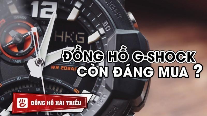 Đồng hồ G-Shock GA-1000 có còn đáng mua trong thời điểm hiện tại?